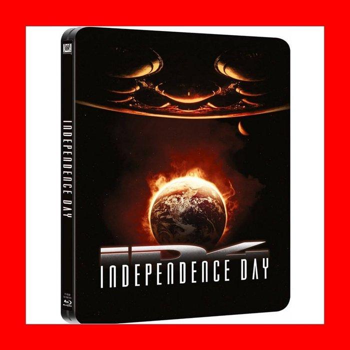 【BD藍光】 ID4星際終結者:專屬限定鐵盒版(英文字幕鎖B區)Independent Day威爾史密斯