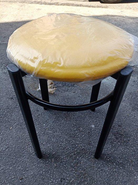非凡二手家具 全新圓管皮墊圓椅(黃)*矮凳*輔助椅*餐椅*麻將椅*塑膠椅*餐廳椅B333-12