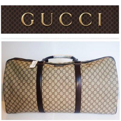 全新正品 Gucci 古馳 超大款 手提包 波士頓包 旅行包 行李袋 行李包 旅行袋Speedy $2998 1元起標