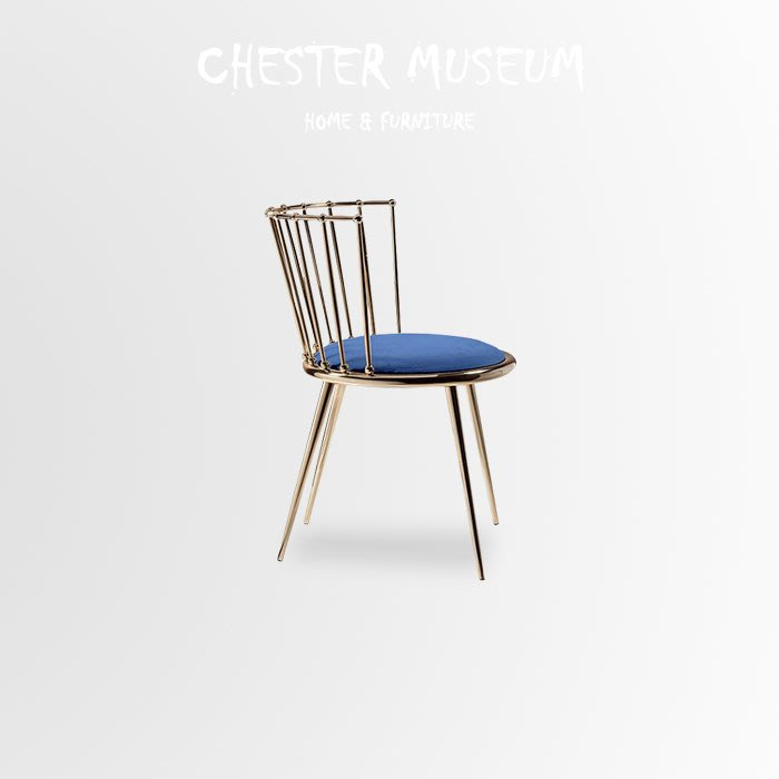 皇冠北歐椅子 餐椅 北歐風 椅子 北歐風餐椅 北歐風 椅子 化妝椅 賈斯特博物館 網紅 網美 拍照