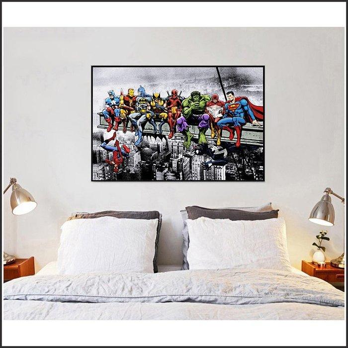 日本製畫布 電影海報 DC漫畫 正義聯盟 超級英雄 掛畫 嵌框畫 @Movie PoP 賣場多款海報~