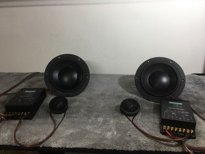 阿皓汽車音響批發  售 DYNAUDIO 6.5吋分音喇叭 低音MD160高音MD100 高音質喇叭