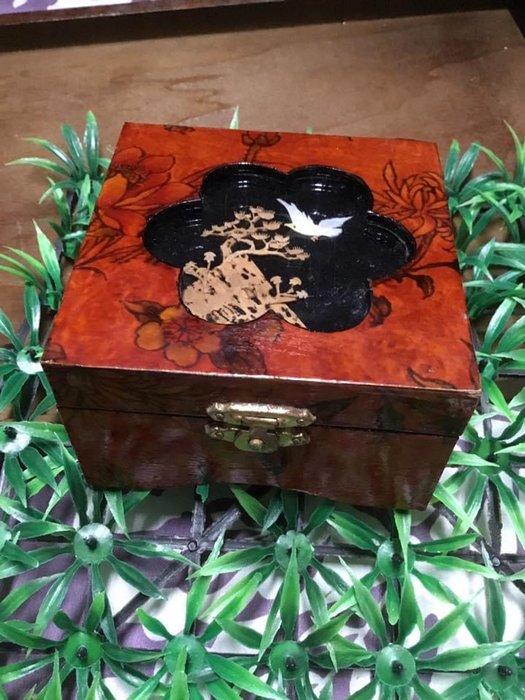 古色古香 珠寶盒 (B款)早期首飾盒 收藏紀念