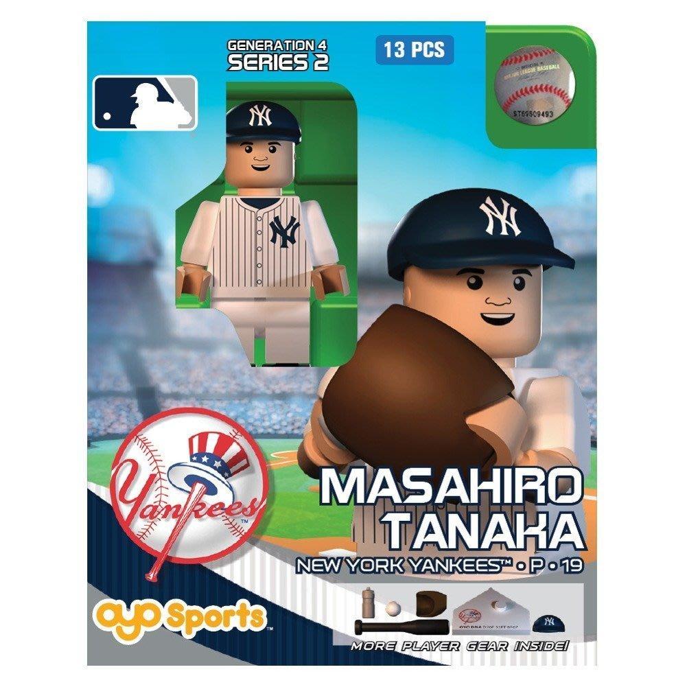 田中將大 樂高玩具 紐約洋基隊