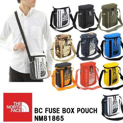 Tsu 日本代購 THE NORTH FACE BC Fuse Box Pouch 側背小包包 真品