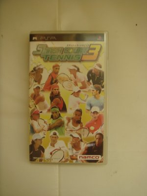 PSP 網球高手 3  Smash Court Tennis