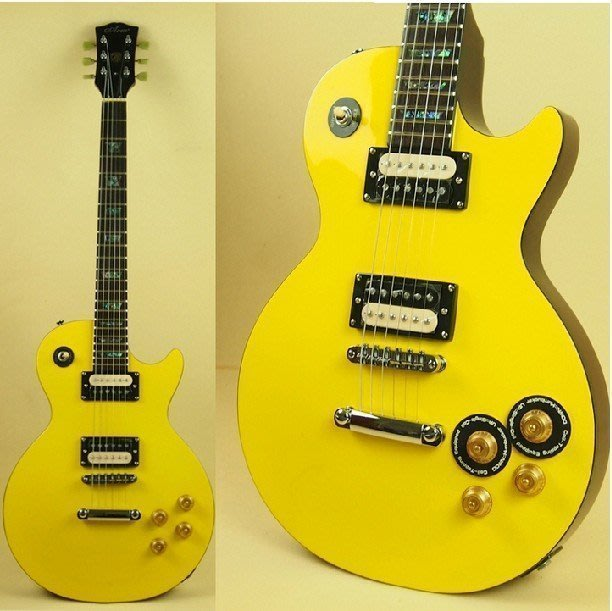 【易發生活館】新品促銷 ARM 小黃蜂款 lespaul 黃色LP電吉他套裝~終極三國小黃蜂款電吉他 穩定性更好
