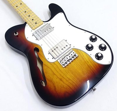 【又昇樂器 . 音響】無息分期Fender Classic Player Tele Thinline Deluxe半空心