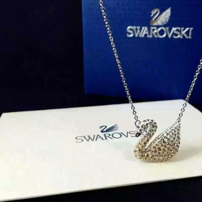 Swarovski 施華洛世奇項鍊墬子鍊子母親節禮物耳環戒子