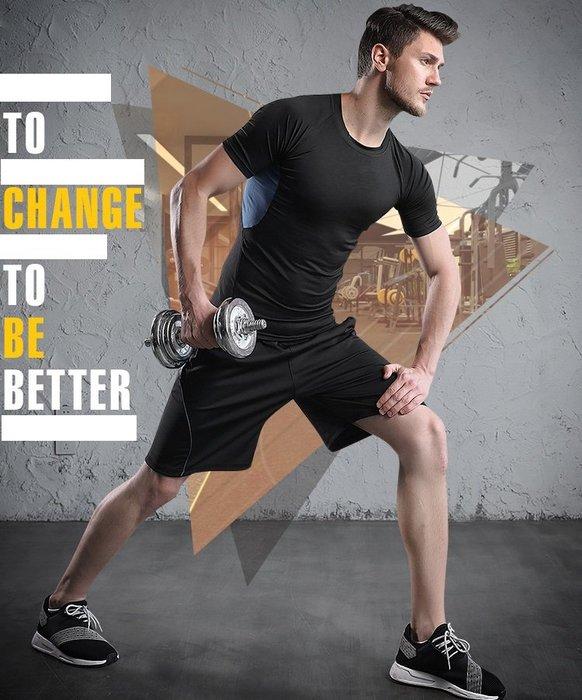 運動短褲 健身短褲 【S~3XL】 速乾透氣舒適短褲 速乾彈力五分褲 跑步健身運動短褲
