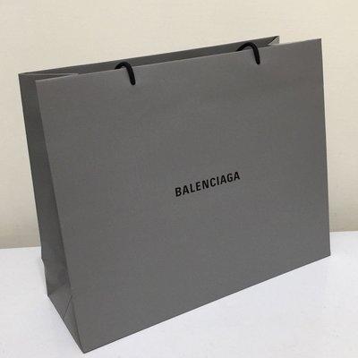 Balenciaga 巴黎世家 新款 灰色 大款 紙袋包 購物包 全新