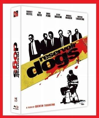 【BD藍光】霸道橫行:外紙盒限量鐵盒版A款(台灣繁中字幕)Reservoir Dogs追殺比爾黑色追緝令導演