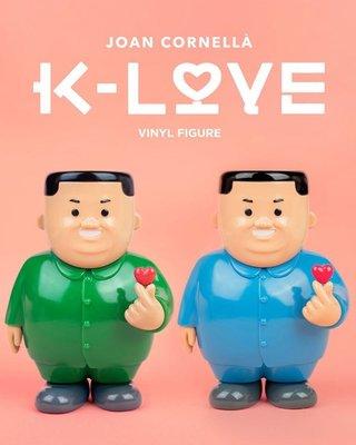"Joan Cornellà ""K-Love"" Vinyl Figure 6.7 inch - Blue and Green 搪膠公仔 Vinyl Figures"