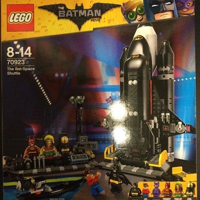 COME 玩具 LEGO 70923 蝙蝠俠太空梭。人偶特殊,一次擁有
