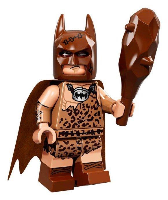 現貨【LEGO 樂高】Minifigures人偶系列: 蝙蝠俠電影人偶包抽抽樂 71017 | #4 原始蝙蝠俠+狼牙棒