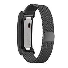 KINGCASE (現貨) fitbit alta米蘭尼斯回環磁吸錶帶 alta HR通用不銹鋼邊框+錶帶