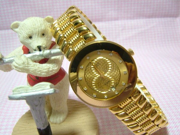 全心全益低價特賣*伊陸發鐘錶百貨*公司貨男性金腕錶* 財運.好運旺旺來.