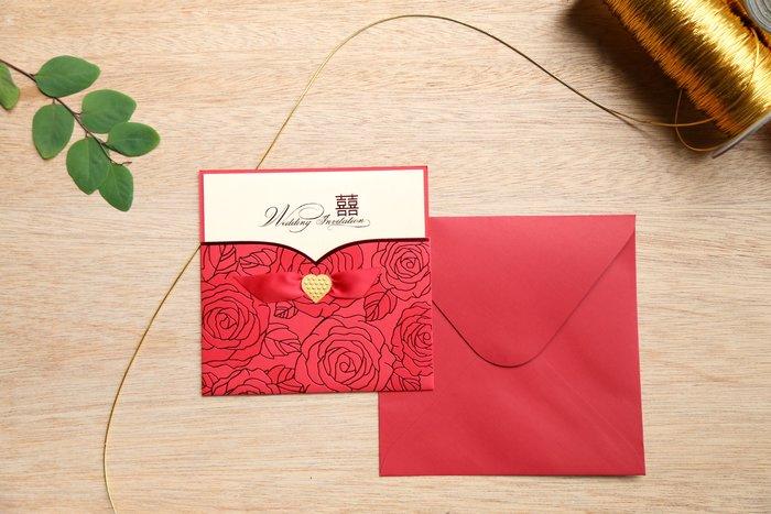 立泰喜帖 雷雕婚卡【特價26元】結婚訂婚歸寧 #5899
