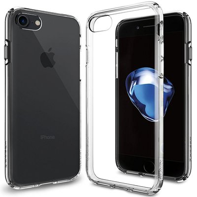 SOLD SGP SPIGEN Ultra Hybrid iPhone 7 防撞超薄型 雙料 防震 手機殼 保護套 透明