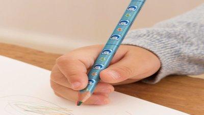 日本製 4色色鉛筆 一盒6支 (N0023)