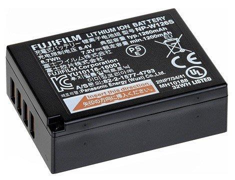 【eWhat億華】Fujifilm NP-W126S 新版原廠電池 XPRO1 XPRO2 XT2 XT10 適用 W126 新款W126S  平輸 【1】