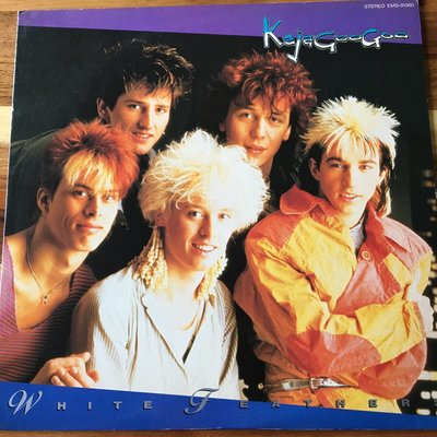 [老搖滾典藏黑膠] Kajagoogoo-White Feathers 日盤