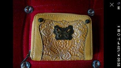 ANNA SUI 日本雕花皮夾全新(真品)也可以當零錢包