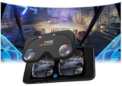 【新款IPHONE6 PLUS VRCASE】折疊式3dvr眼鏡隨時隨地看3D電影虛擬現實眼鏡手機殼Figment VR