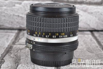 【品光數位】NIKON AIS 28mm F2.8 手動對焦 老鏡 廣角 #77350