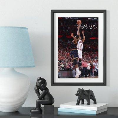 世界杯YYDS~羅斯絕殺紀念相框裝飾送朋友禮物迷禮品照片墻籃球公園球館裝飾