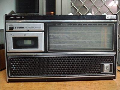 GRUNDIG歌蘭帝卡帶收音機