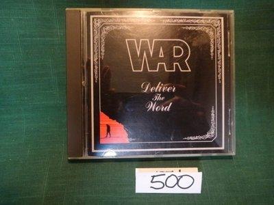 【愛悅二手書坊 CD-A2C】war deliver the word