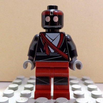 【LEGO樂高】NINJAGO旋風忍者龜系列 Foot Soldier Dark Red 深紅色版步兵 79104限定