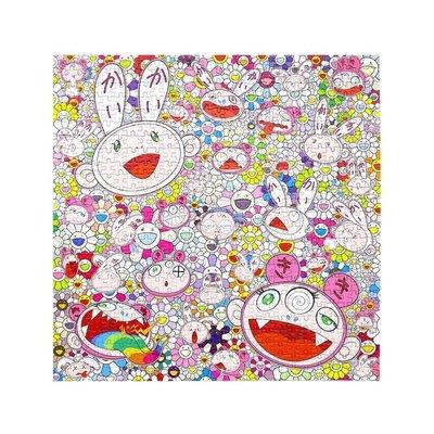 《潮流本舖》現貨 村上隆 Jigsaw Puzzle Kaikai & Kiki & FLOWER 小花 拼圖 650片