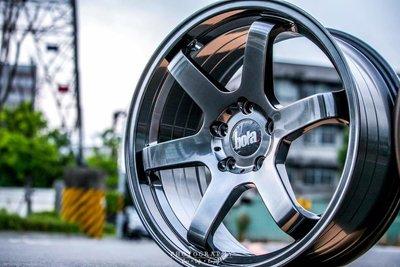 英國新銳品牌 BOLA B1 19吋鋁圈  5孔100 5孔108 5孔112 5孔114.3 完工價 鈦色