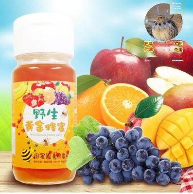 ︿肥鳥代購︿田蜜園-蜂蜜之王野生黃金蜂蜜-感謝組-獨(700g/瓶)*4瓶