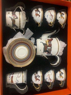 愛馬仕 咖啡杯組 咖啡店 專用款 特惠出清
