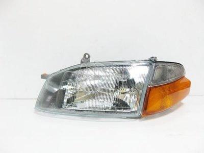 ~~ADT.車燈.車材~~豐田 SOLEMIO 海力士 HIACE  外銷版玻璃大燈+角燈 單邊1900