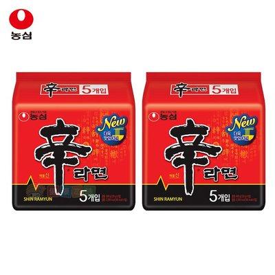 韓國農心辛拉麵10入組(共2袋)  泡麵 [KR809]健康本味(促銷至4/22止)