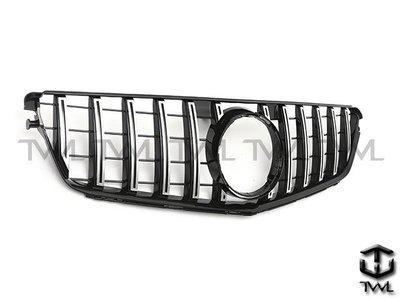 《※台灣之光※》全新BENZ賓士W204 08 09 10 11 12年GTR AMG款直立式水箱罩C250 C300