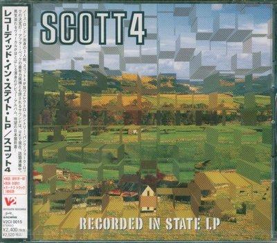 K - SCOTT 4 - Recorded In State LP - 日版 +3BONUS - NEW