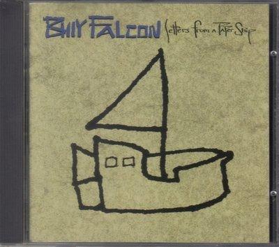 華聲唱片- Billy Falcon / Letters from a paper ship / 全新未拆CD