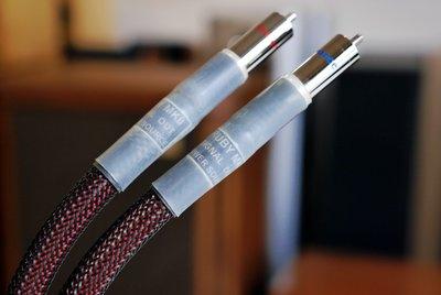 *玖聲音響發燒精品*全新Power Source RUBY MK2 RCA訊號線 頂級線材