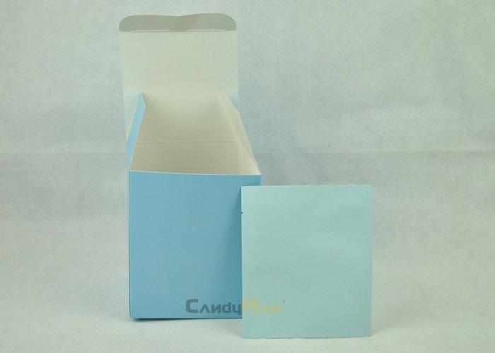 DBD02 天空藍 霧面 全空白 掛耳咖啡外盒 質感好 有硬度 可裝10包濾泡式掛耳咖啡袋 20入