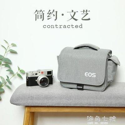 攝影背包佳能相機包單反微單便攜可愛單肩男女攝影背包M6M100M5080D200D 海角七號