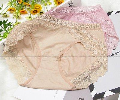 M-XL輕薄蕾絲無痕內褲 棉質女生三角褲台灣製