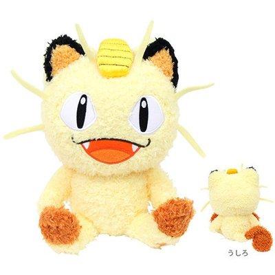 尼德斯Nydus 日本正版 精靈寶可夢 神奇寶貝Pokemon 絨毛玩偶 娃娃 喵喵 Meowth