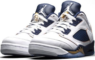 NIKE AIR JORDAN 5 RETRO LOW NAVY BLUE 海軍藍 流川楓 喬丹大帝籃球鞋