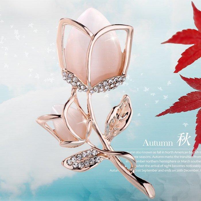 胸針胸花飾品潮流時尚diy韓國服飾裝飾時尚精美胸花水鉆仿水晶花朵胸針日韓個性時裝別針女飾品