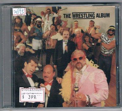 [鑫隆音樂]西洋CD-THE WRESTLING ALBUM/VARIOUS ARTISTS/全新/免競標